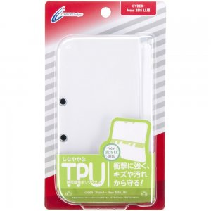 CYBER · TPU cover (New for 3DS LL) clea...