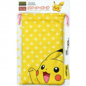 Pokemon Cleaner Pouch for New 3DS LL (Pi...