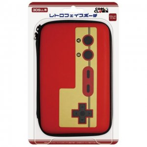 Retro Face Pouch for 3DS LL (Famicom Red...