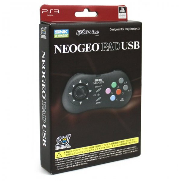 NeoGeo Pad USB for PlayStation 3 (PS3)