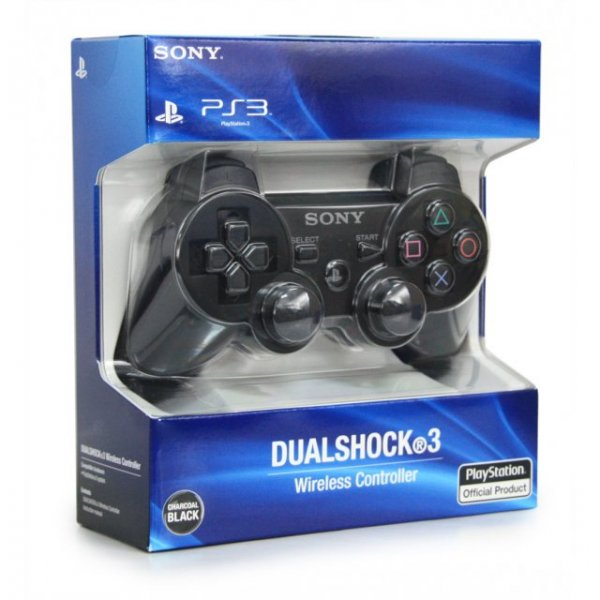 Dual Shock 3 (Charcoal Black) for PlayStation 3