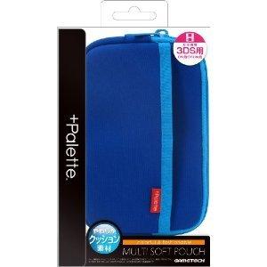 +Palette Multi Soft Pouch for 3DS (Sapph...