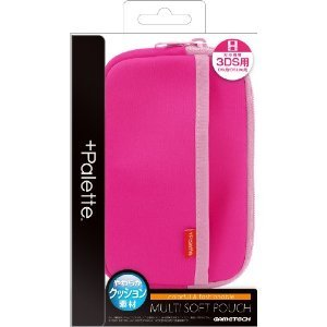 +Palette Multi Soft Pouch for 3DS (Rose...
