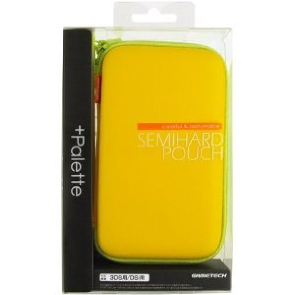 +Palette Semi Hard Pouch for 3DS (Yellow Leaf)