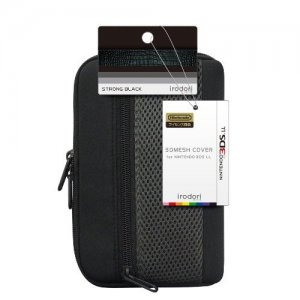3D Mesh Cover for 3DS LL (Strong Black)