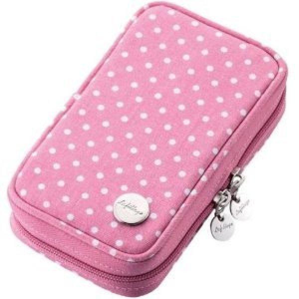 3DS Canvas Case (Pink Dot)
