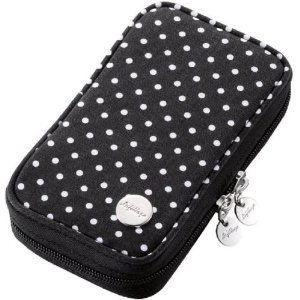 3DS Canvas Case (Black Dot)