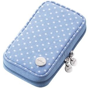 3DS Canvas Case (Blue Dot)