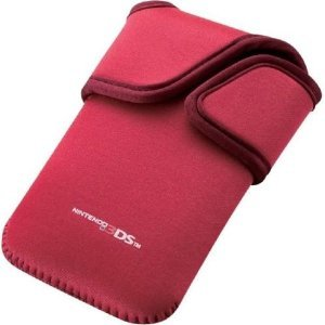 3DS Neoprene Soft Case (Red)