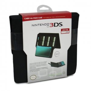 Carry All Folio Case for Nintendo 3DS