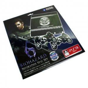 Biohazard 6 Decoration Seal Set for PS3 ...