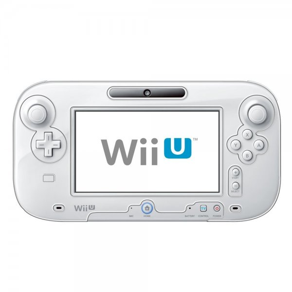 PC Full Barikata Cover for Wii U GamePad (Clear) [Compatible with Charger Stand]