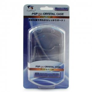Crystal case for PSP Go