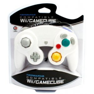 Wii/GameCube Controller (Silver)