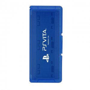 Card Case 6 for PlayStation Vita (Blue)