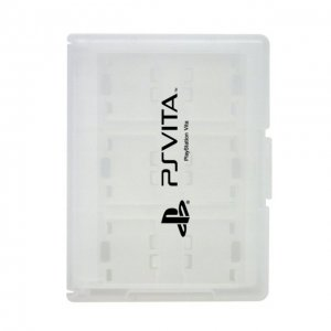 Card Case 12 for PlayStation Vita (White...