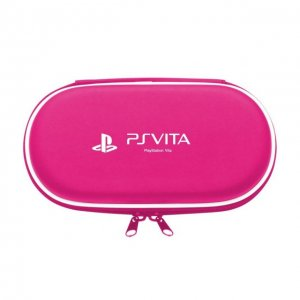 Hard Pouch for PlayStation Vita (Pink)