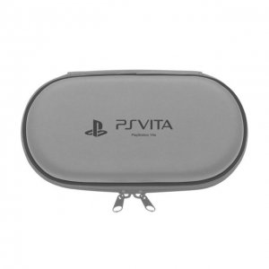 Hard Pouch for PlayStation Vita (Silver)