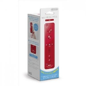 Wii Remote Plus Control (Red)