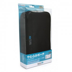 Yawaraka Pouch for Wii U GamePad (Black)