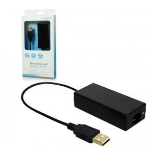 Network Adapter Black for WII U