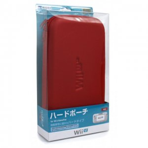 Hard Pouch for Wii U GamePad (Red)