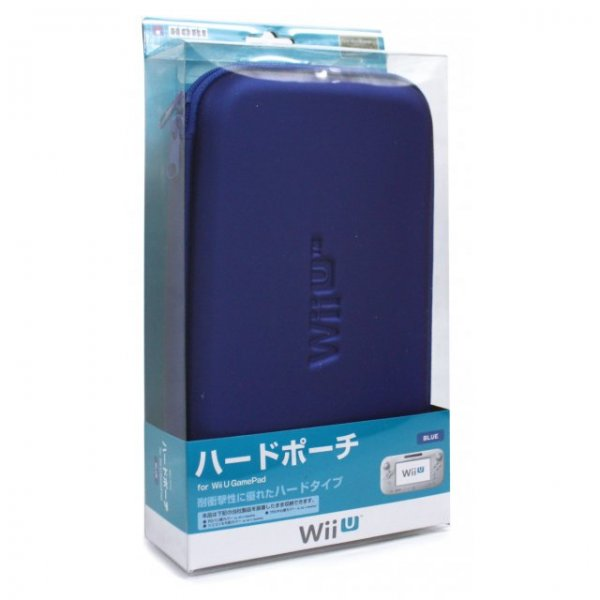 Hard Pouch for Wii U GamePad (Blue)