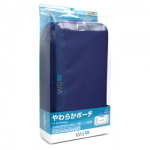 Yawaraka Pouch for Wii U GamePad (Blue)