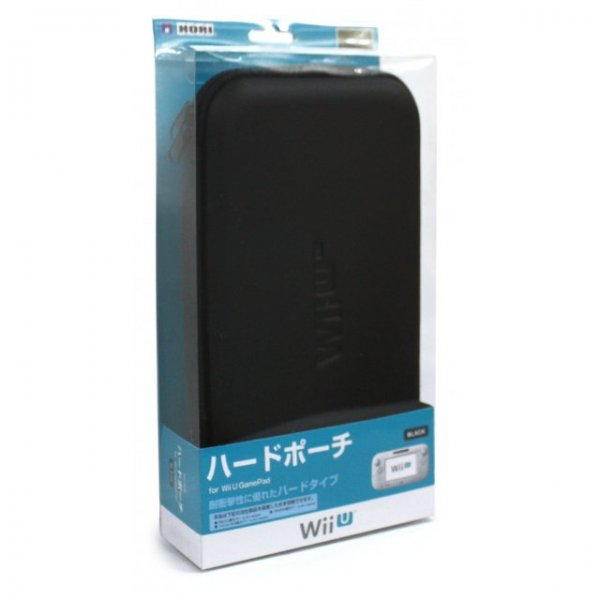Hard Pouch for Wii U GamePad (Black)