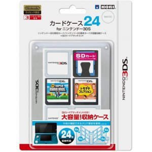3DS Card Case 24 (Clear)