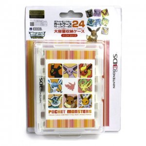 Pokemon Card Case 24 for 3DS (Eievui Ser...