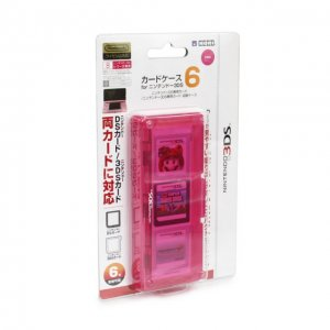 3DS Card Case 6 (Pink)