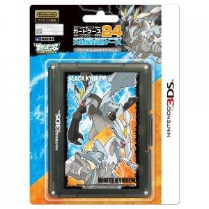 Pokemon Card Case 24 for 3DS (Black Kyur...