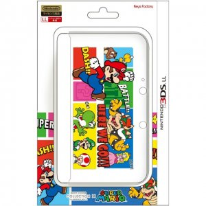 Body Cover for 3DS LL Mario (Type B)