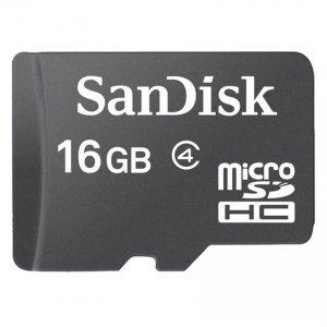 Sandisk micro SD 16 GB  (Class4)