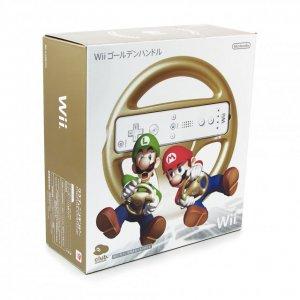 Golden Wii Wheel [Club Nintendo Limited ...