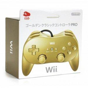 Wii Classic Controller Pro (Gold) [Club ...