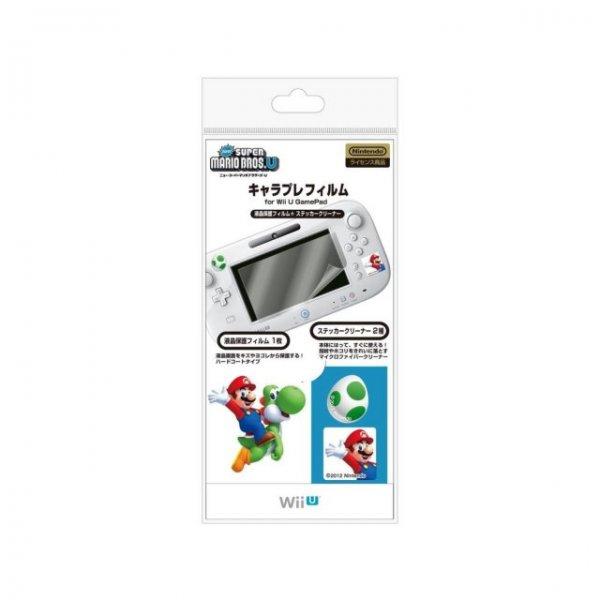 Character Film New Mario U for Wii U GamePad (White)