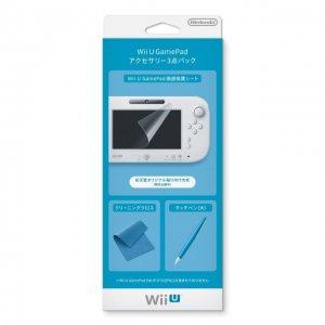 Wii U GamePad Accessory Set (Official Ni...