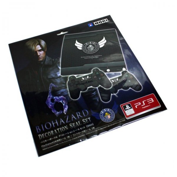 Biohazard 6 Decoration Seal Set for PS3 (DSO Edition)
