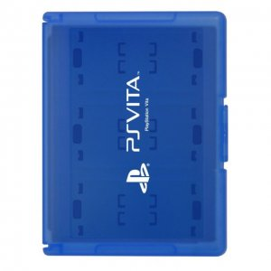 Card Case 24 for PlayStation Vita (Blue)