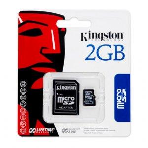 Kingston micro SD (2gb) w/adaptor
