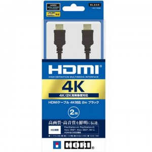 Hori HDMI Cable 4K Support 2M (Black)