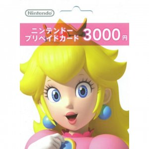 Nintendo Network Card / Ticket (3000 YEN...