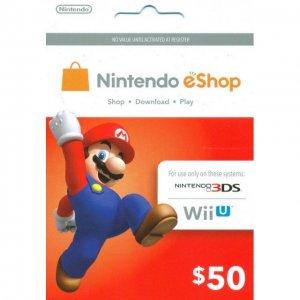 Nintendo Prepaid Card (US$50 / for US ne...