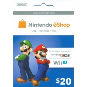 Nintendo Prepaid Card (US$20 / for US ne...