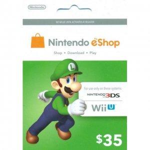 Nintendo Prepaid Card (US$35 / for US ne...
