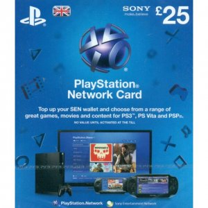 PlayStation Network Card (GB£ 25 / for ...