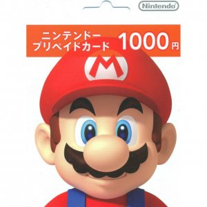 Nintendo Network Card / Ticket (1000 YEN...