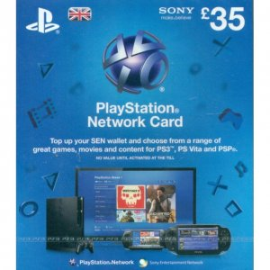 PlayStation Network Card (GB£ 35 / for ...